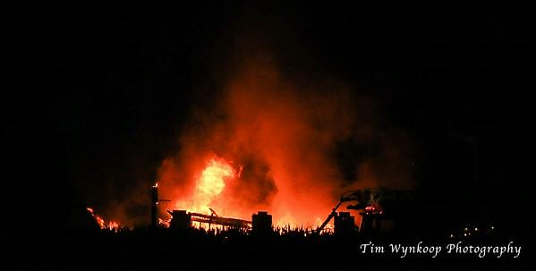 Third Street Garage Fire