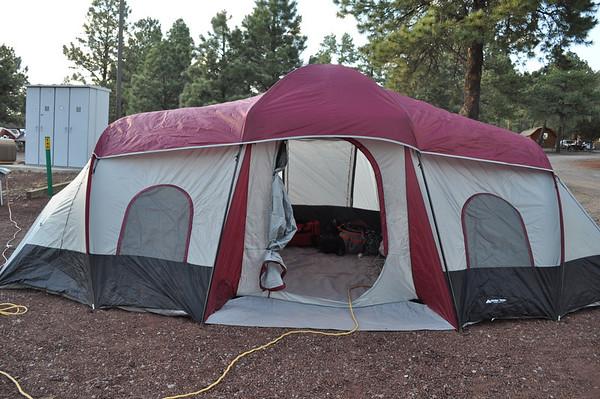 Camping, Williams AZ, June 2013