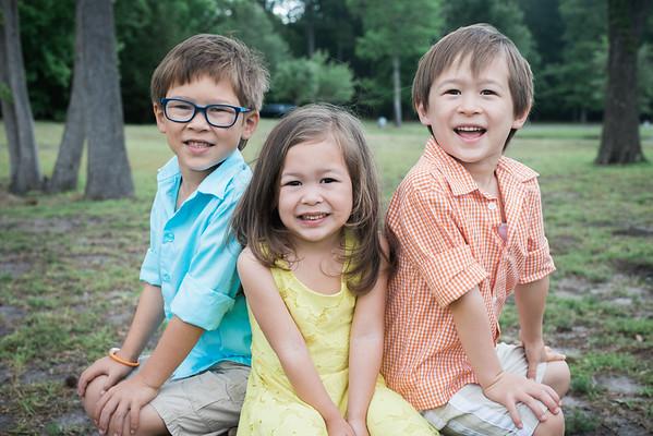 Benj, Brady, & Noelle