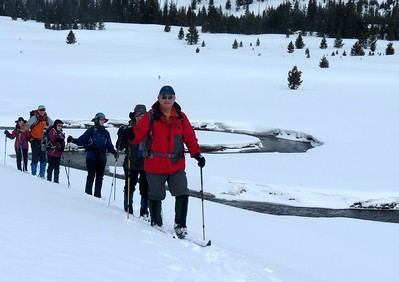 NW Yellowstone NP Ski 2013