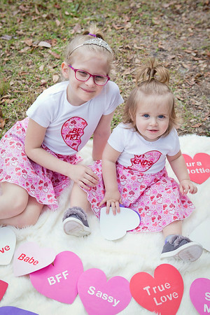 Valentine's Day Minis: Penelope and Marley!