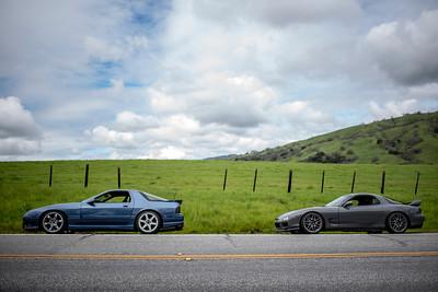 RX7 Mt. Ham Drive 4/6/19