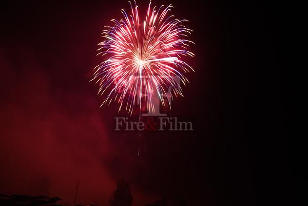 Eagle Rock Fireworks - July 2017