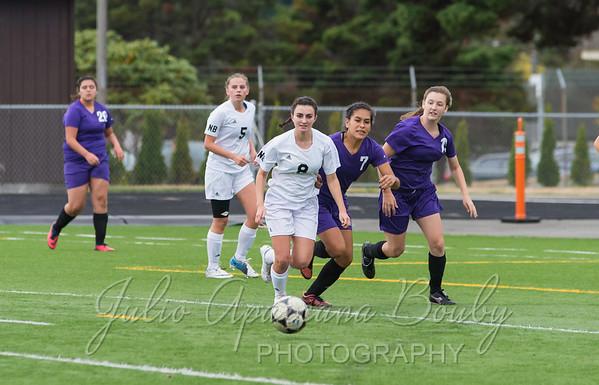 140923 NBHS Girls Soccer vs MHS