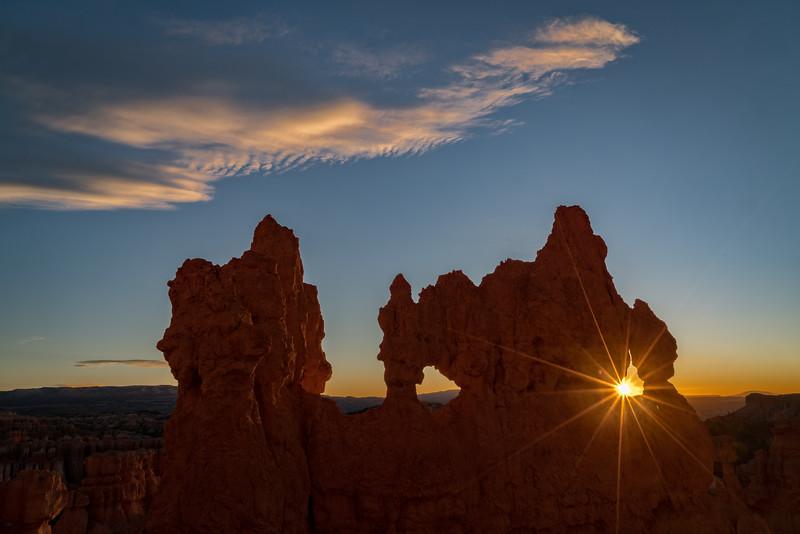 Bryce Morning Sunstar