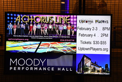 2-2-2018 A Chorus Line Opening @ Uptown Players - Moody Performing Hall
