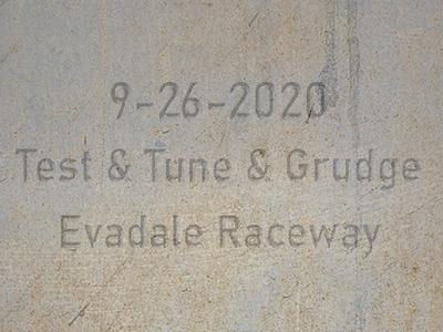 9-26-2020 Evadale Raceway 'Test & Tune & Grudge Racing'