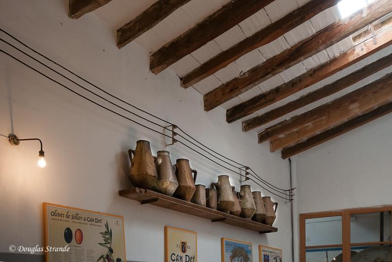 Olive oil vessels, Soller, Mallorca