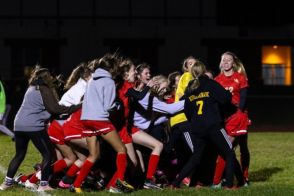 WCHS Girls Soccer Playoff Game vs. Wellington
