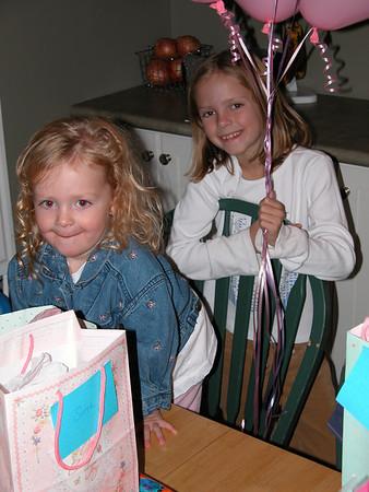 Sage & Addie Birthday 2003