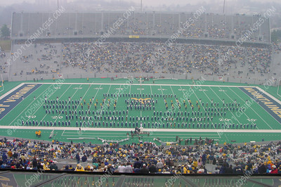 WVU vs Temple<br>Halftime Formations