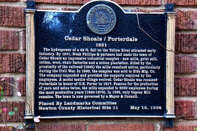Porterdale Georgia
