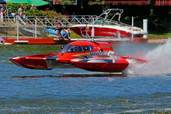 Lucky Eagle 2014 Black Lake Regatta - Saturday