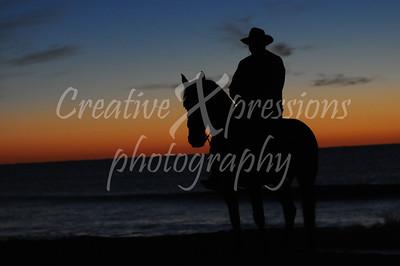 2012 Beach Ride Friday Sunrise