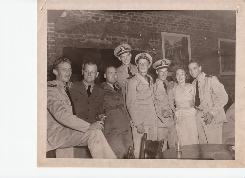 Pat O'Brien's in the Old French Quarter, New Orleans. LA  ,1944