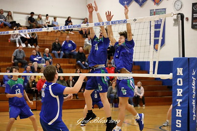101719CNSvsLWA Boys Volleyball