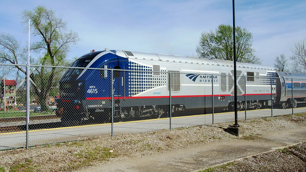 Amtrak One Day Trip on Saluki and Illini April 11