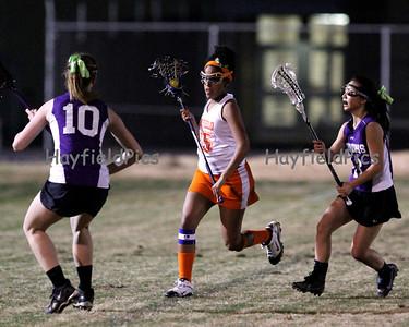 Girls Lacrosse Lake Braddock 3/17/11