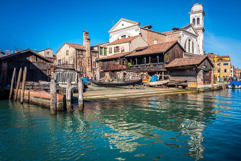 Shipyard in Venice
