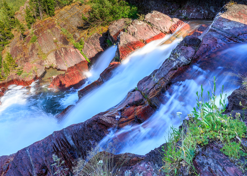 Brink Of Redrock Falls