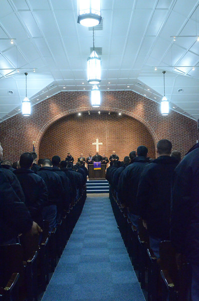 Bishop E. W. Jackson Speaks to Cadets