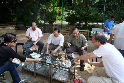 2010 Nov - BBQ at Salesian House