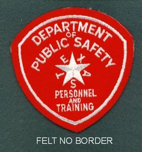 TX DPS Personnel & Training