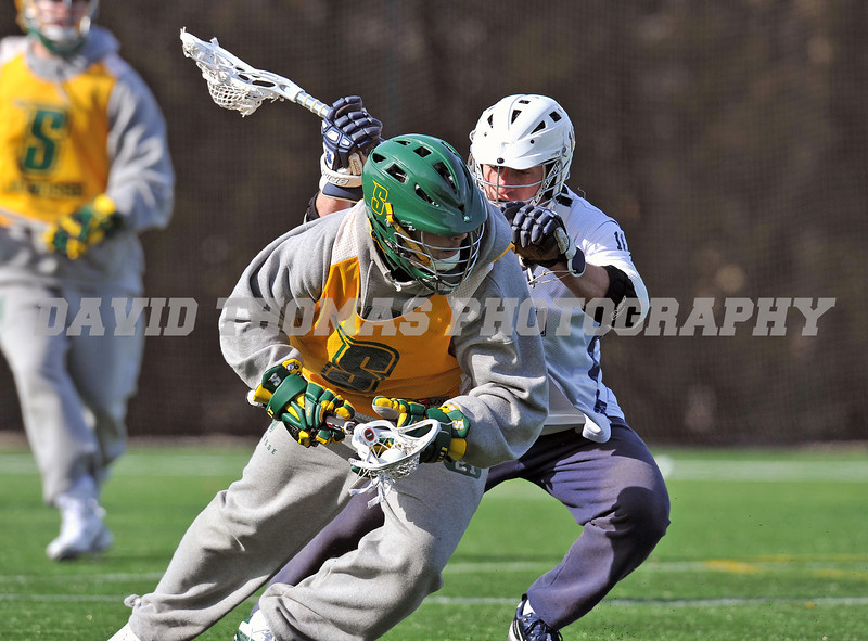 Siena vs Yale Men's Lacrosse 2012 Scrimmage