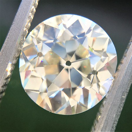 2.11ct Old European Cut Diamond GIA K VS1