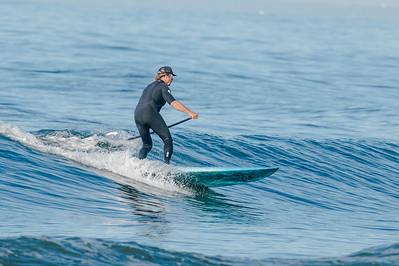 Alex SUP'ing Long Beach 7-8-18