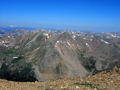 Colorado highpoint: Mt. Elbert hike: July 14, 2006
