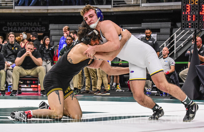 141: Vince Turk (Iowa) dec. Sal Profaci (Michigan), 3-1
