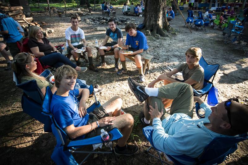 Camp Horseshoe Family Day 8/1/2015