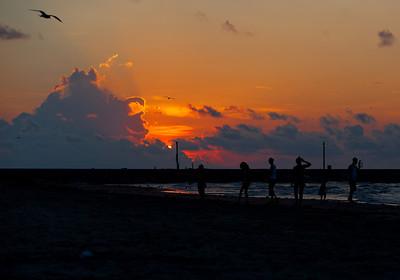 Galveston Sunrise/Sunsets