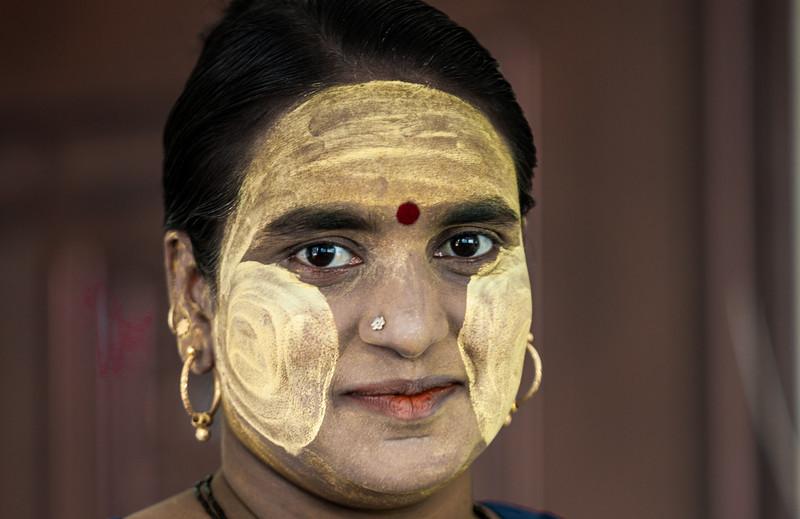 Burmese Woman.