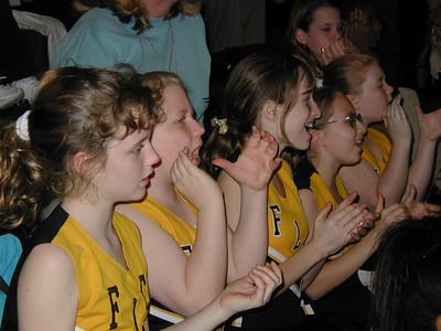 Kelly Cheerleading - 1/25/2001