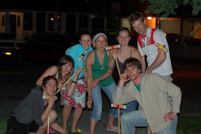 Croquet at Devin's, June