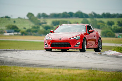 Red Toyota FRS/86