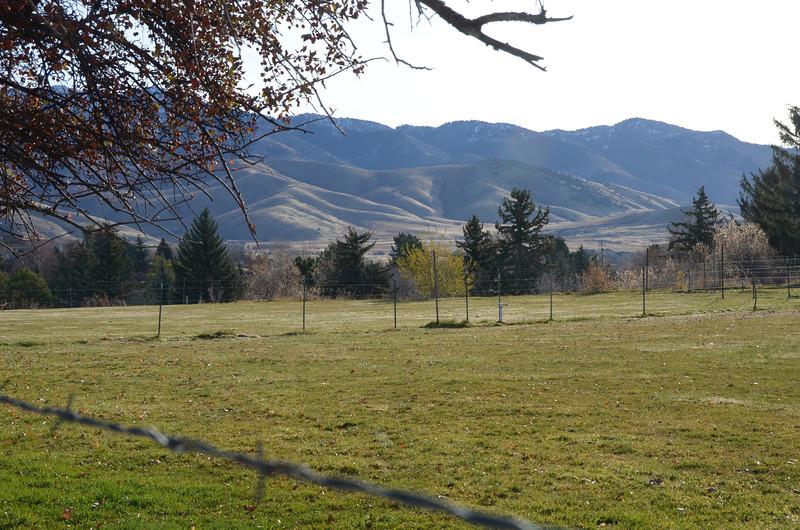 Mountains near Logan Utah, Thanksgiving 2012