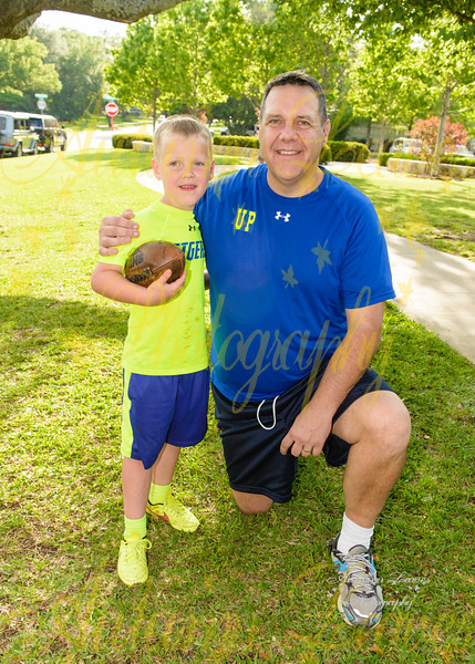 KB Tigers - PCYMCA Flag Football Spring 2016