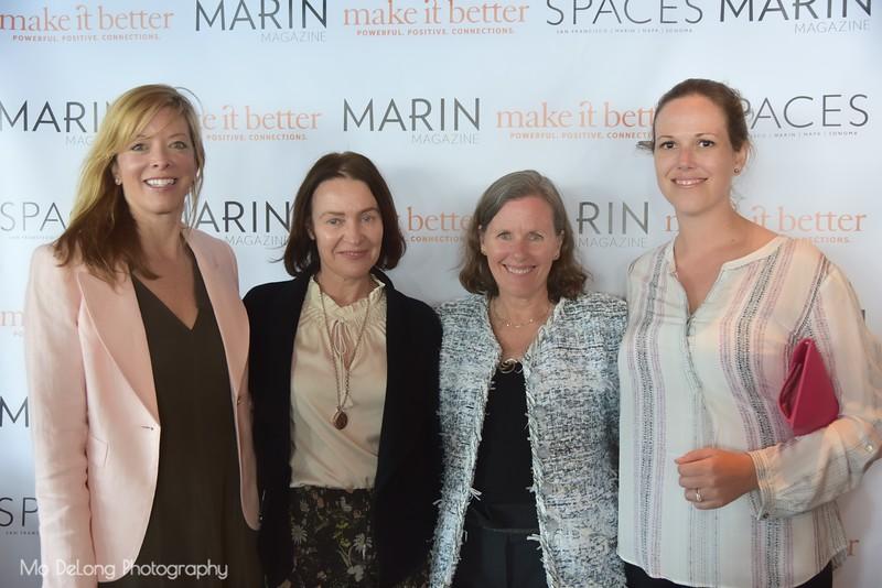 Caroline Craig, Margaret O'Leary, Susan Noyes and Katie Chapman Kelly