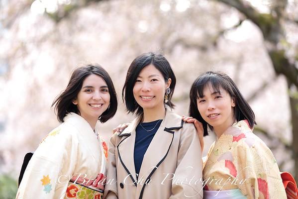 Cherry Blossoms & Kimonos