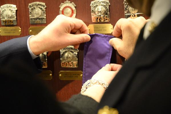2015-3-21 Badge Unveiling Herbert Johnson