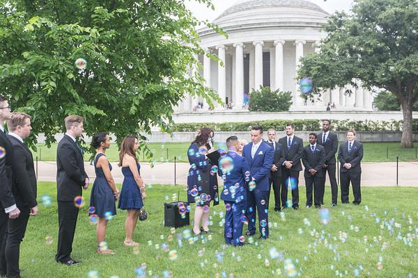 02 Ceremony @ Jefferson Memorial