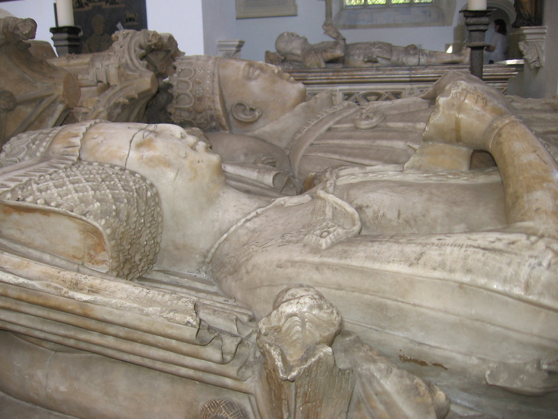 Tomb of the fifth Earl of Arundel and his wife, Fitzalan Chapel, Arundel