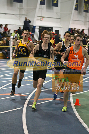 1600M Boys - January 23 MITS Meet at UM