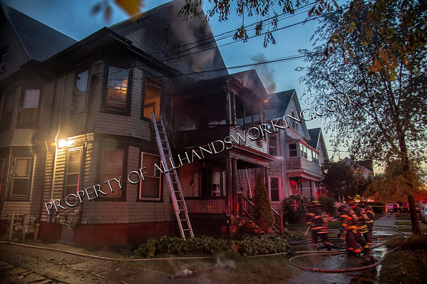 New Haven 112 Maple St dwelling fire
