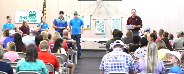 Shelby County 4-H Kickoff draws crowd on Sunday, Aug. 25