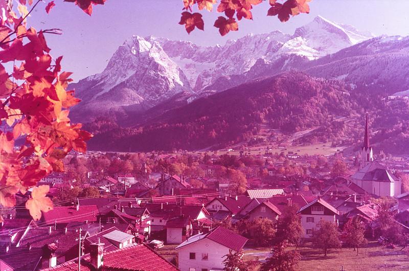 Scenes around Garmisch--Zugspitze and Eiger Peaks, Switzerland
