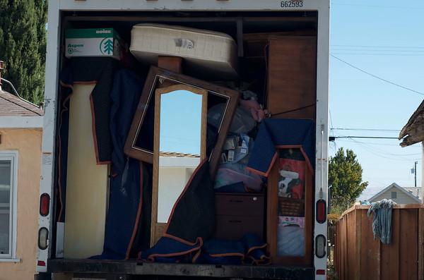 Unloading in Santa Clara